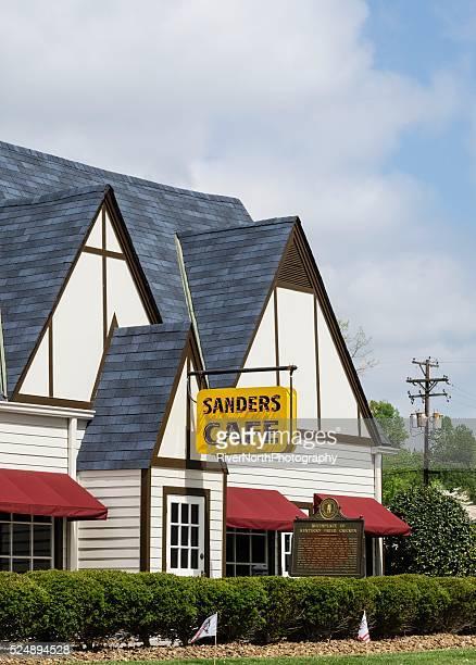 サンダースカフェ」、ケンタッキーフライドチキンの生誕地