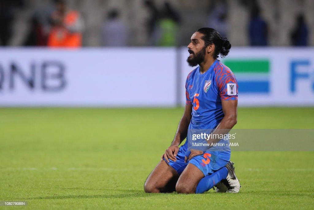 India v Bahrain - AFC Asian Cup Group A : News Photo