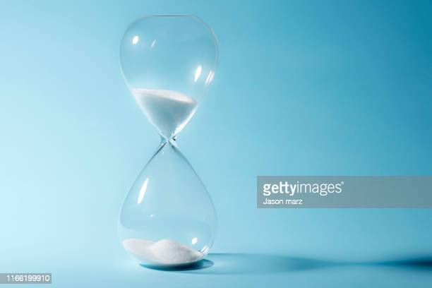 sandglass - countdown stock pictures, royalty-free photos & images