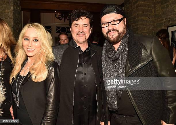 Sandi Spika Borchetta Big Machine Label Founder Scott Borchetta and songwriter Desmond Child attend Off The Record Fashion Show held at a Private...