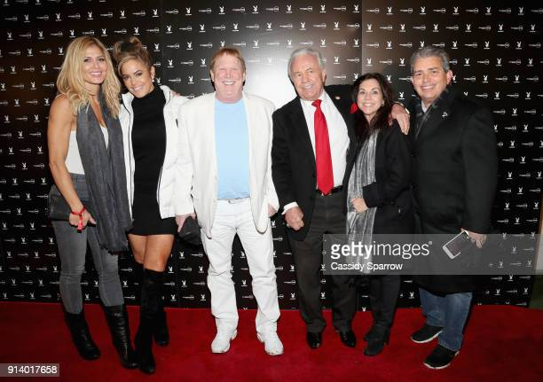 Sandi Taylor Torrie Wilson Mark Davis and guests attend Playboy's Big Game Weekend Party presented by Talent Resources Sports on February 3 2018 in...