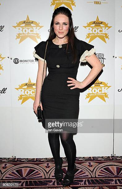 Sandi Thom attends the Classic Rock Roll Of Honour Awards at the Park Lane Hotel on November 2 2009 in London England