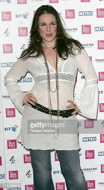 Sandi Thom during BT Digital Music Awards Launch at BT Tower in London Great Britain