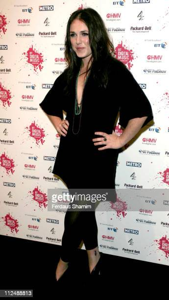 Sandi Thom during BT Digital Music Awards Red Carpet Arrivals at Roundhouse London in London Great Britain