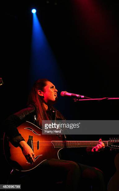 Sandi Thom performs on the opening night of her tour at The Brook on April 2 2014 in Southampton England