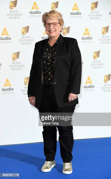 Sandi Toksvig attends the Royal Television Society Programme Awards at the Grosvenor House on March 21 2017 in London United Kingdom