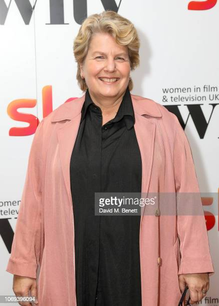 Sandi Toksvig attends the Sky Women in Film and Television UK Awards 2018 at the London Hilton on December 7 2018 in London England
