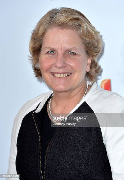 Sandi Toksvig attends the Sky Women in Film and TV Awards at the London Hilton on December 4 2015 in London England