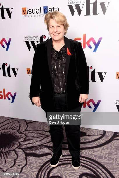 Sandi Toksvig attends the 'Sky Women In Film and TV Awards' held at London Hilton on December 1 2017 in London England