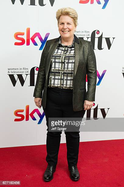 Sandi Toksvig attends the Sky Women In Film TV Awards at London Hilton on December 2 2016 in London England