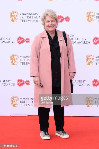 Sandi Toksvig attends the Virgin Media British Academy Television Awards 2019 at The Royal Festival Hall on May 12 2019 in London England