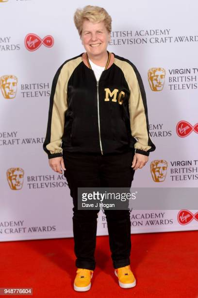 Sandi Toksvig attends the Virgin TV BAFTA nominees' party at Mondrian London on April 19 2018 in London England