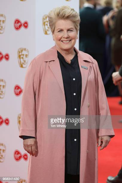 Sandi Toksvig attends the Virgin TV British Academy Television Awards at The Royal Festival Hall on May 13 2018 in London England