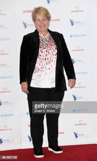 Sandi Toksvig attends the Woman Of The Year Awards Lunch at Intercontinental Hotel on October 16 2017 in London England