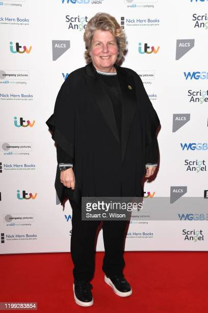 Sandi Toksvig attends the Writers' Guild Awards 2020 at Royal College Of Physicians on January 13 2020 in London England