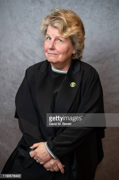 Sandi Toksvig poses for a portrait at the Writers' Guild of Great Britain Awards 2020 at the Royal College Of Physicians on January 13 2020 in London...