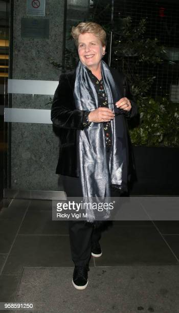 Sandi Toksvig seen attending NHS Heroes Awards at London Hilton Park Lane on May 14 2018 in London England