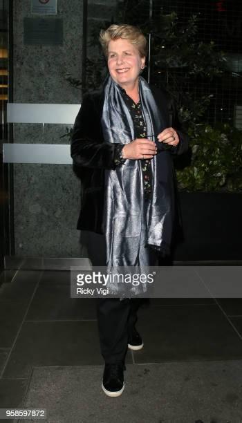 Sandi Toksvig seen attending NHS Heroes Awards at London Hilton Park Lane on May 14 2018 in London England