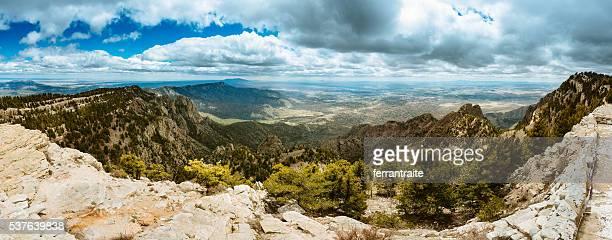 Pico sandía Panorama de la ciudad de Albuquerque