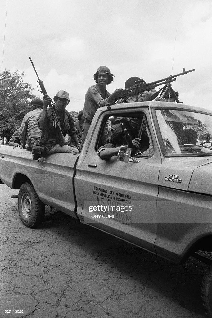 Revolution in Nicaragua : News Photo