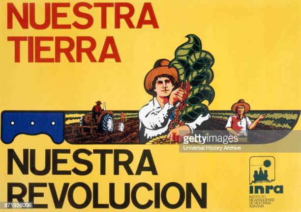 Sandinista National Liberation Front propaganda poster in Nicaragua The party was named after Augusto C_sar Sandino who led the Nicaraguan resistance...