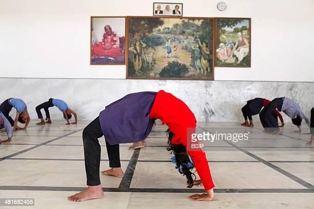 Sandipani Muni high school yoga