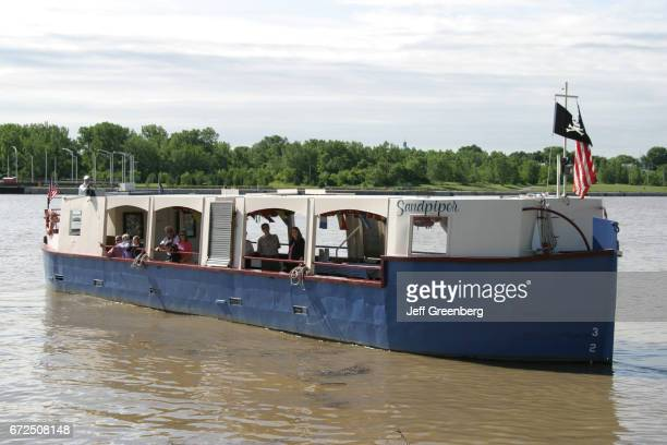 Sandpiper Boat tour boat on Maumee River