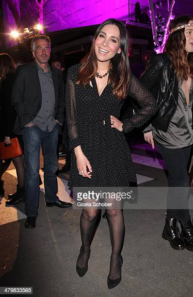 Sandra Ahrabian attends the 30 year anniversary celebration of the club P1 on March 20 2014 in Munich Germany
