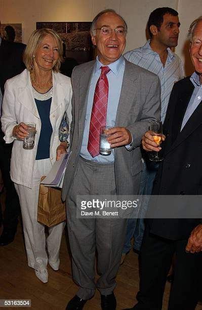 Sandra and Michael Howard attend the Private View for The Sixties Set An Inside View By Robin DouglasHome at The Air Gallery on June 28 2005 in...