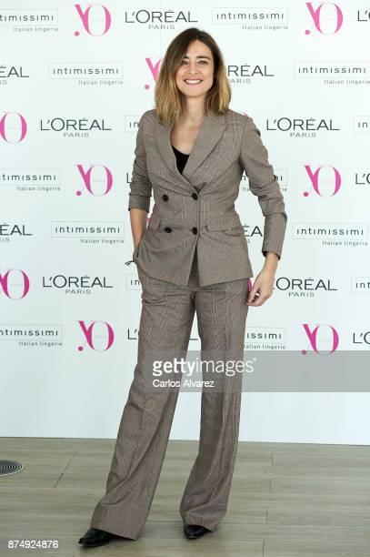 Sandra Barneda attends 'Poder Femenino' by Yo Dona at the Espacio Tower on November 16 2017 in Madrid Spain