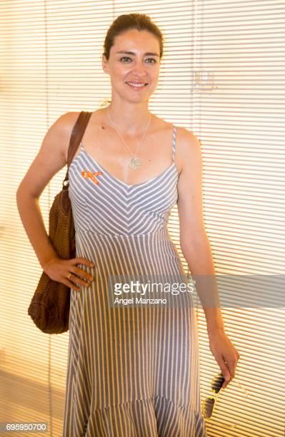 Sandra Barneda attends Skin Cancer Prevention European Day campaign by Avene on June 13 2017 in Madrid Spain