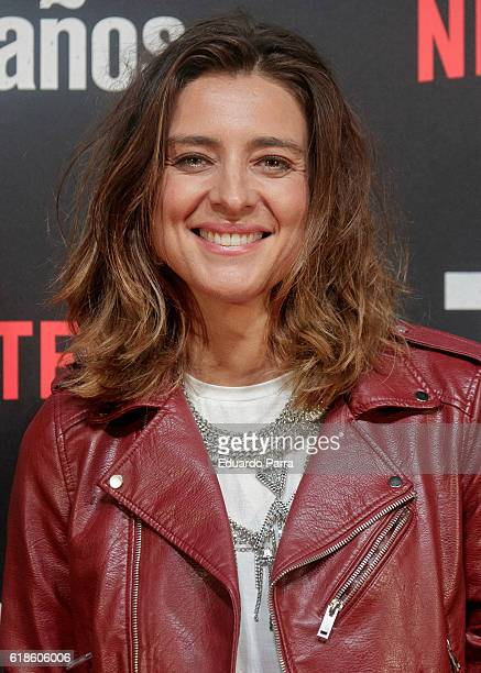 Sandra Barneda attends the '7 anos' photocall at Capitol cinema on October 27 2016 in Madrid Spain