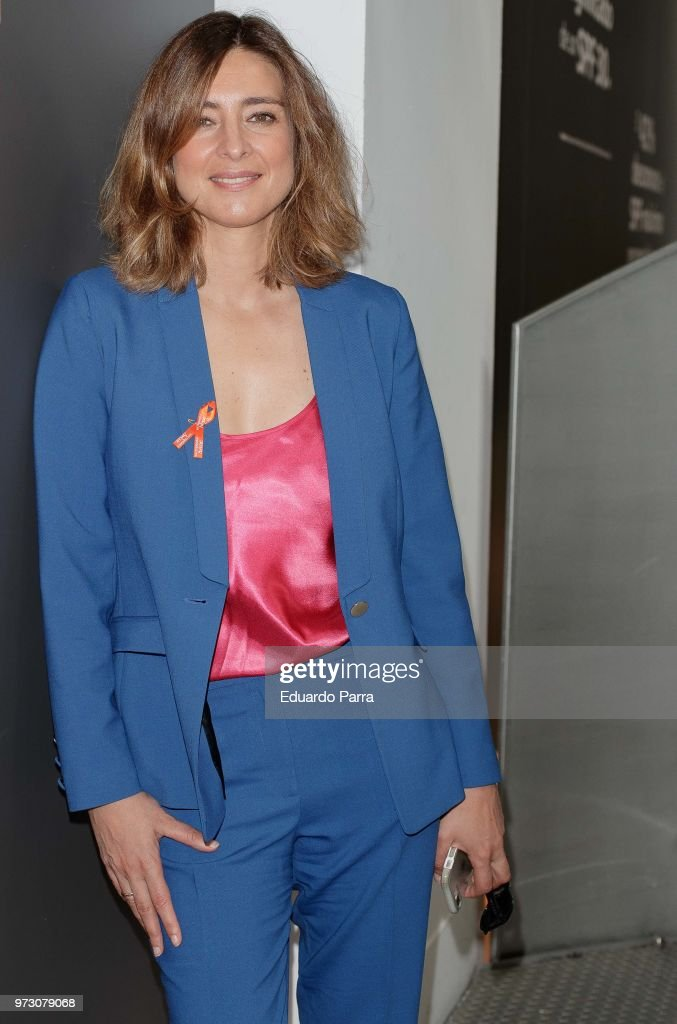 Sandra Barneda attends the 'Avene support skin cancer prevencion' event at UnoNueve space on June 13, 2018 in Madrid, Spain.