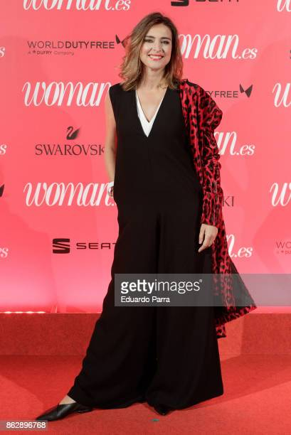 Sandra Barneda attends the 'Woman 25th anniversary' photocall at Madrid Casino on October 18 2017 in Madrid Spain