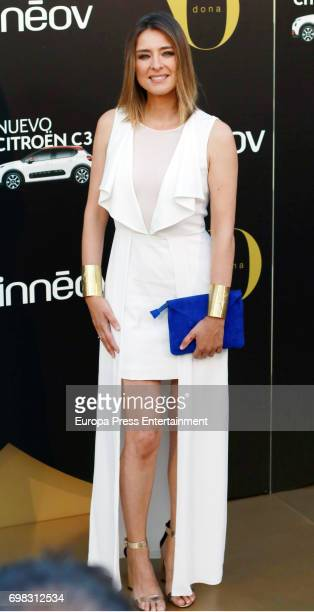 Sandra Barneda attends the 'Yo Dona' International Awards at the Palacio de los Duques de Pastrana on June 19 2017 in Madrid Spain