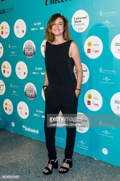 Sandra Barneda attends Tom Jones concert at the Royal Theatre on July 29 2017 in Madrid Spain