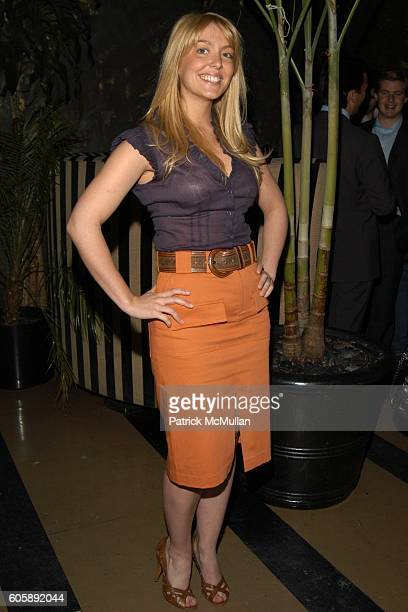 Sandra Barros attends JORDANA BREWSTER's Blame it on Rio Birthday Party hosted by CABANA CACHACA at Bungalow 8 on April 20 2006 in New York City