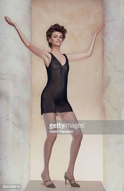Sandra Bernhard actress/comedian shot in 1987 for Esquire Magazine's women we love feature
