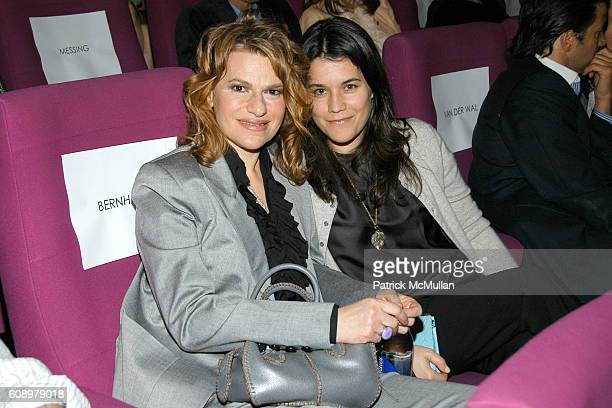 Sandra Bernhard and Sara Switzer attend THE CINEMA SOCIETY and THE WALL STREET JOURNAL host a screening of Away from Her at IFC Center on May 2 2007...