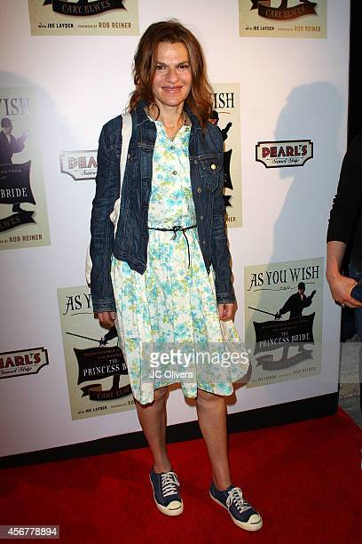 Sandra Bernhard attends 'As You Wish Inconceivable Tales From The Making Of The Princess Bride' Cary Elwes latest memoir on October 6 2014 in...