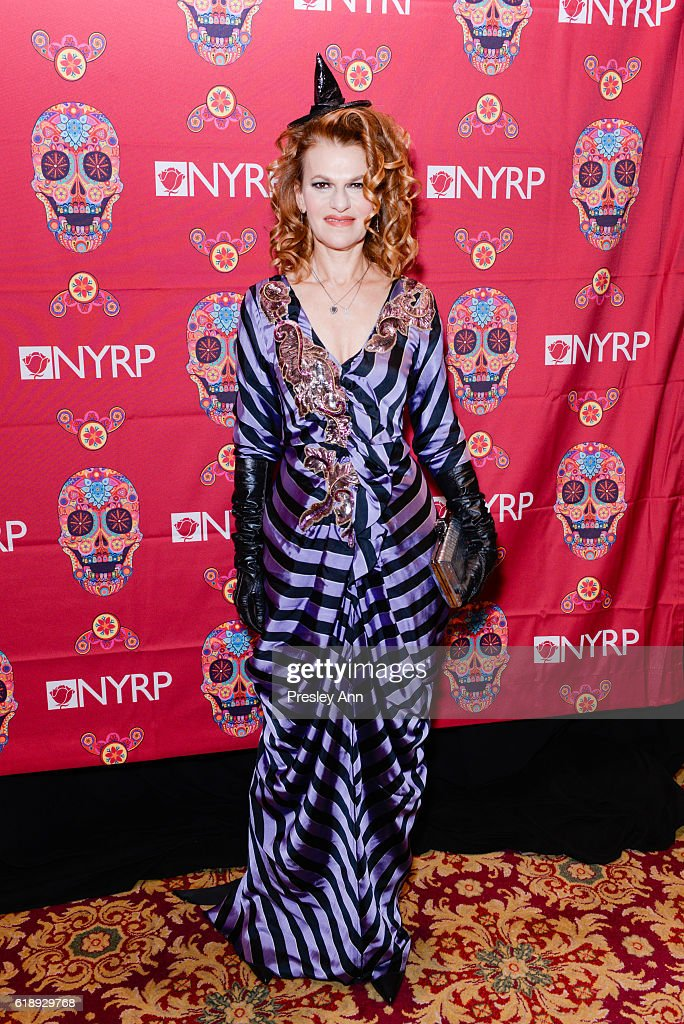 Sandra Bernhard attends Bette Midler's Annual Hulaween Bash celebrating the New York Restoration Project at the Waldorf=Astoria on October 28, 2016 in New York City.