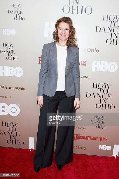 """Sandra Bernhard attends the """"How To Dance In Ohio"""" premiere at Time Warner Center on October 19, 2015 in New York City."""