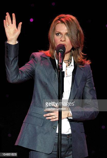 Sandra Bernhard during Comedy Tonight A Night of Comedy to Benefit the 92nd Street Y at The 92nd Street Y in New York City NY United States