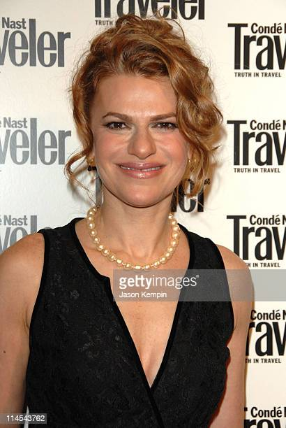 Sandra Bernhard during Conde Nast Traveler 19th Annual Readers Choice Awards October 16 2006 at American Museum of Natural History in New York City...