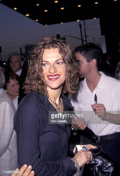 Sandra Bernhard during Liza Minnelli in Concert Opening Night at Pantages Theater in Los Angeles California United States