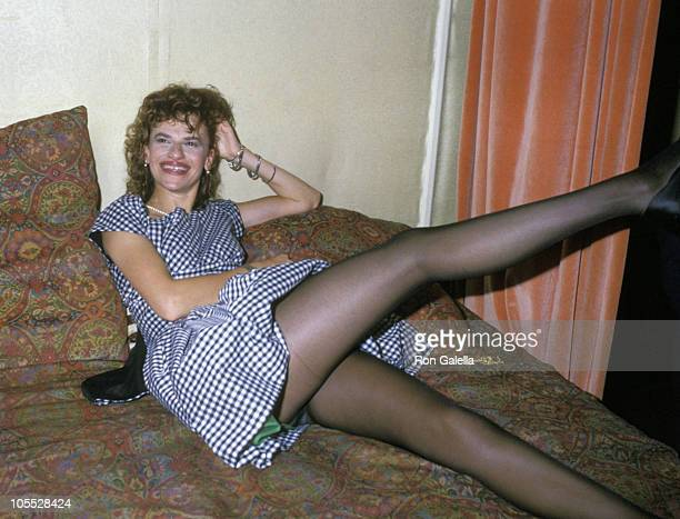 Sandra Bernhard during Sandra Bernhard Confessions of a Pretty Lady Book Party August 25 1988 at Club MK in New York City New York United States