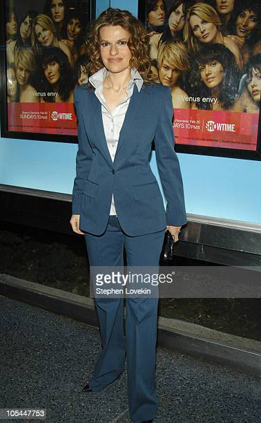 Sandra Bernhard during Showtime Presents the Second Season Premiere of The L Word at Chelsea Clearview West Cinemas in New York City New York United...