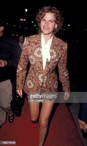 Sandra Bernhard during Terminator 2 Premiere Party at Century Plaza Hotel in Century City California United States