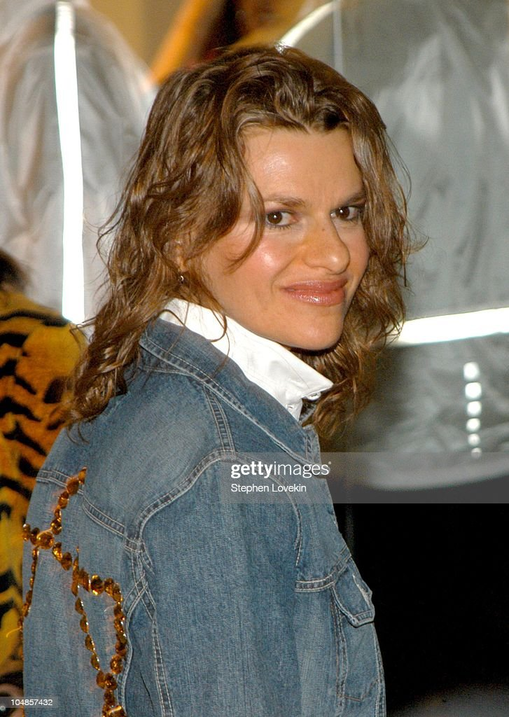 Sandra Bernhard during 'The 72 Names of God' by Kabbalist Rabbi Yehuda Berg at The New Museum of Contemporary Art in New York City, New York, United States.