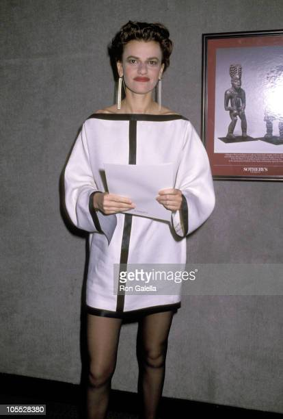 Sandra Bernhard during The Art of Fashion Gala at Sotheby's in New York City New York United States
